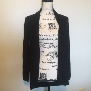 Zara Knit Black Cardigan Size Medium